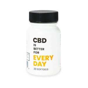 CBD Everyday vegan CBD Softgels