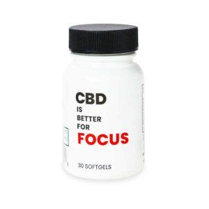 CBD for Focus Gelcap