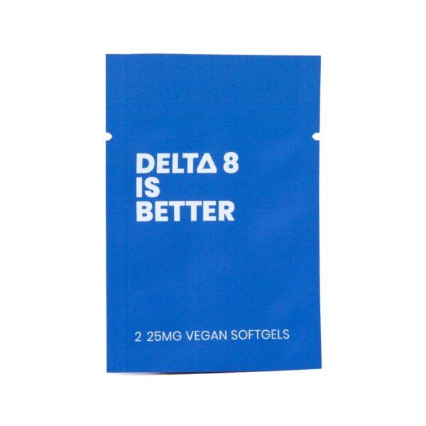 Delta 8 THC gelcaps